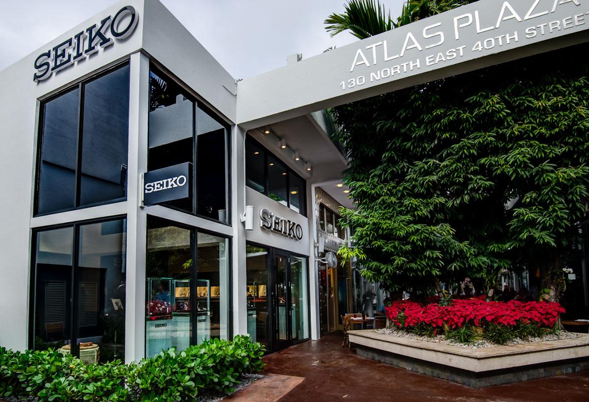Grand Seiko Boutique Miami Design District 130 NE 40th St #11, Miami