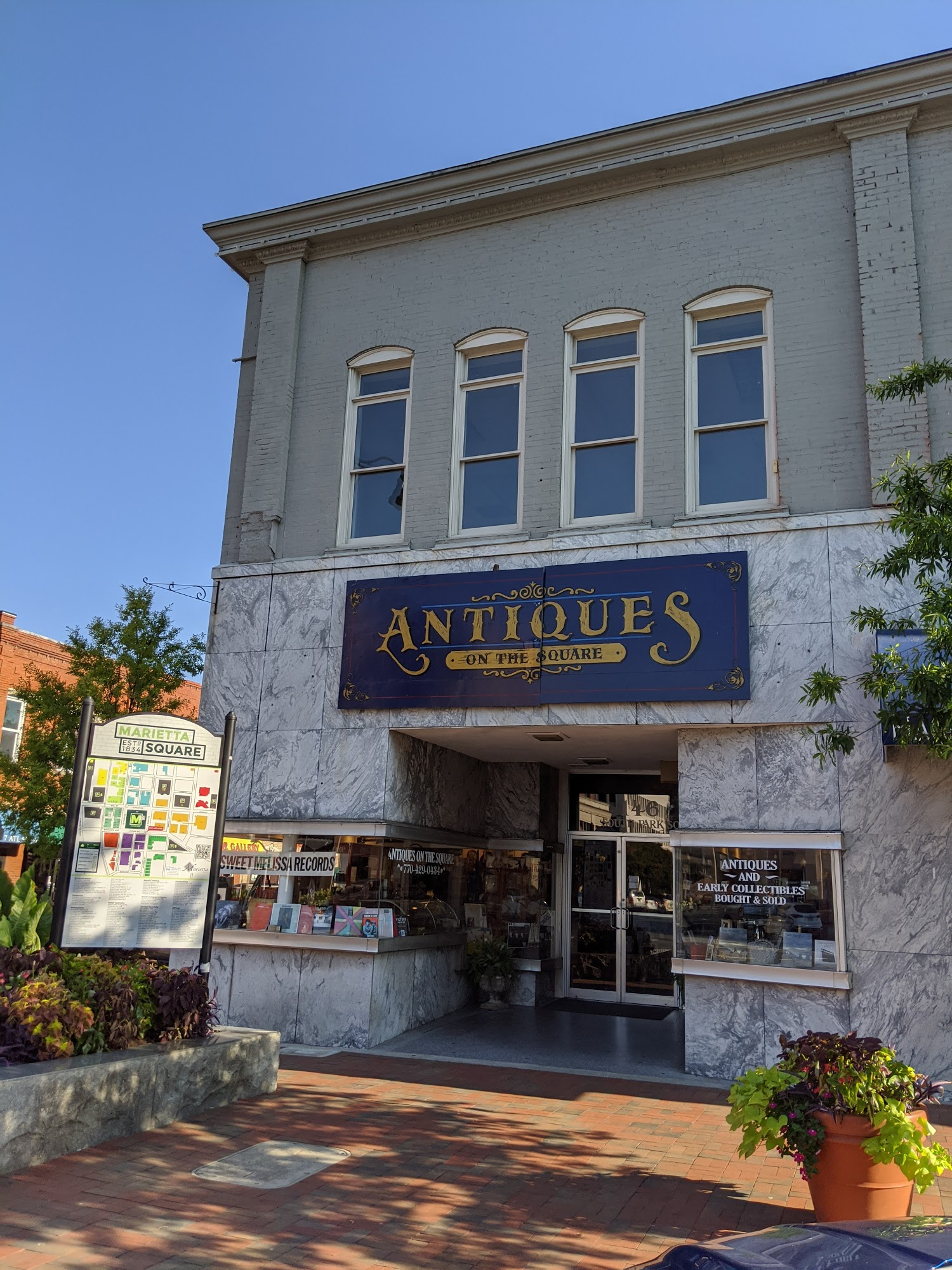 Antiques on the Square - Antiques and Early Collectables 146 S Park Square NE, Marietta