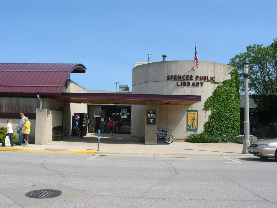 Spencer Public Library 21 E 3rd St, Spencer