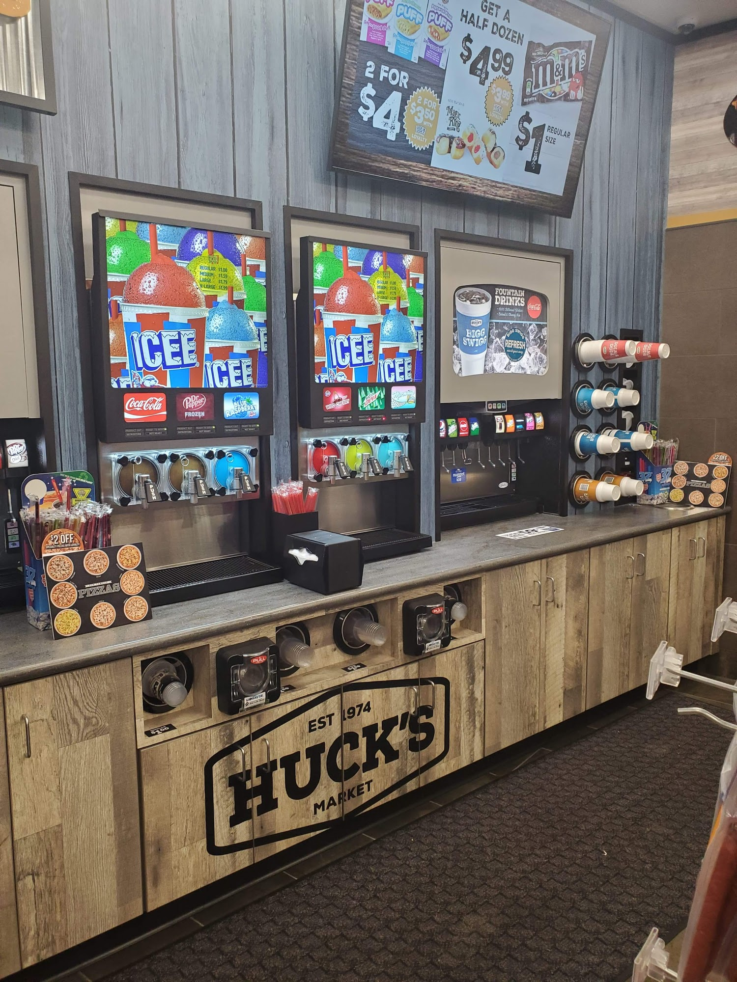 Huck's Food & Fuel 1 Gateway Dr, Washington