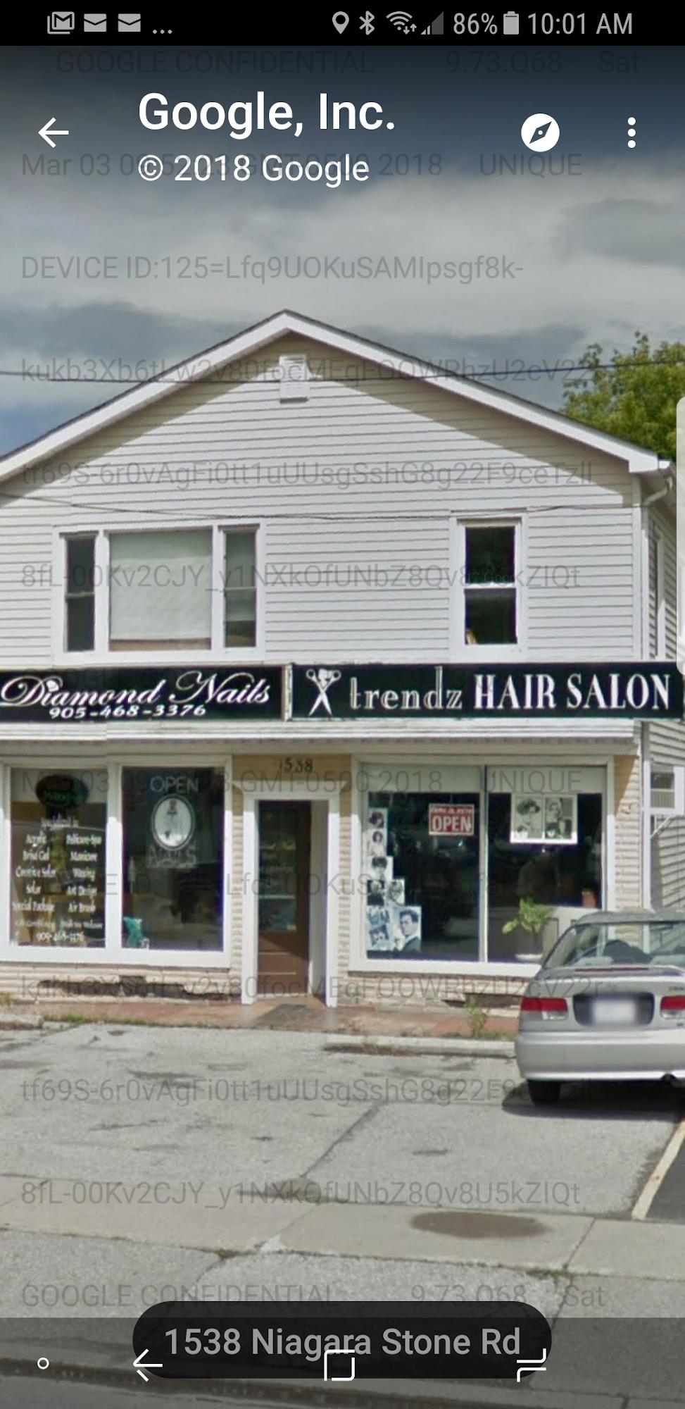 Trendz Hair Salon 1550 Niagara Stone Rd, Niagara-on-the-Lake