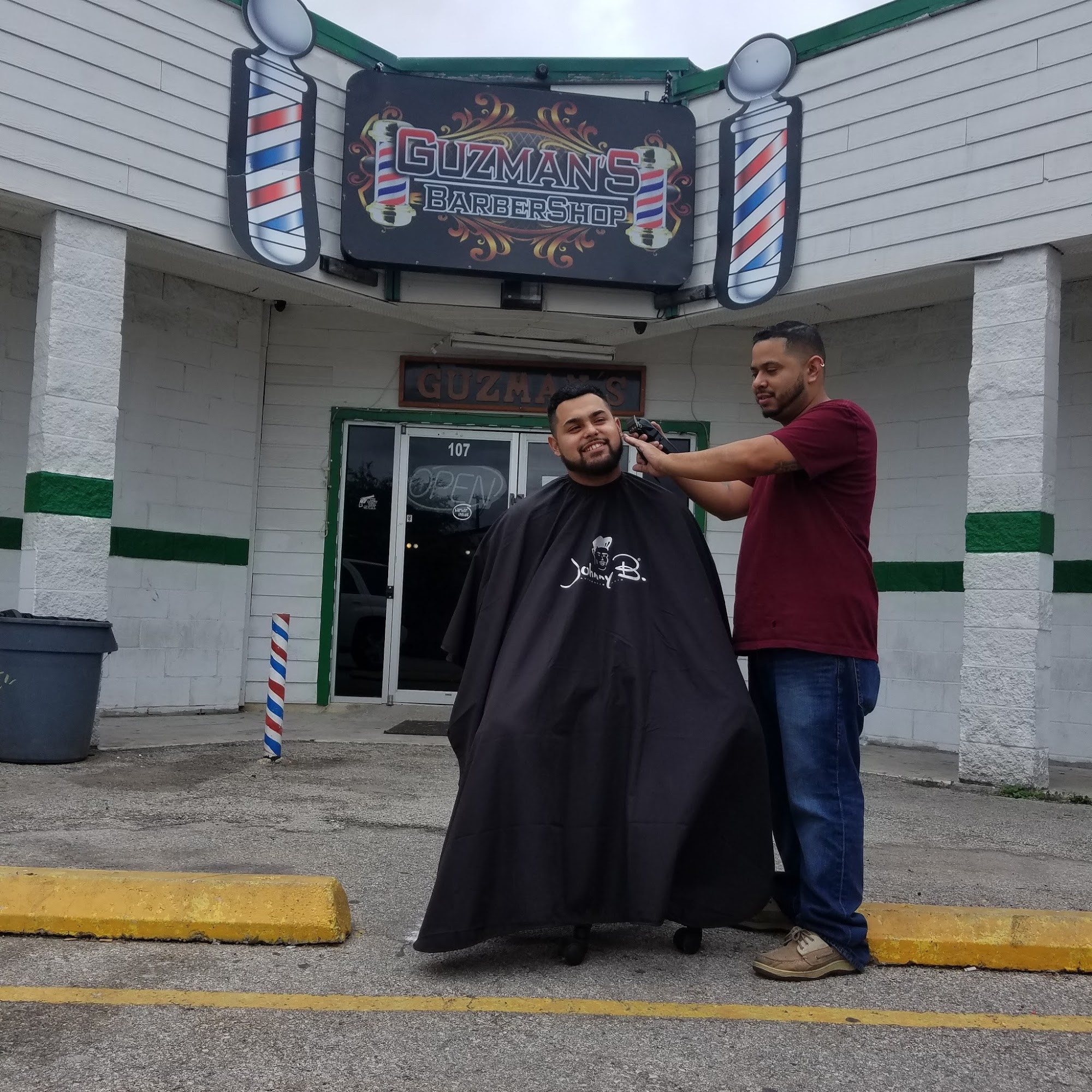 Guzman's Barber Shop 414 N General McMullen Dr, San Antonio